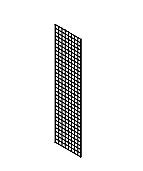 wire grid panel