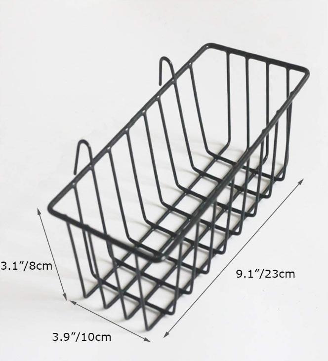 Black Wire Basket 2